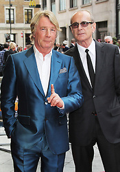 © Licensed to London News Pictures. 01/07/2013. London, UK. Rick Parfitt; Francis Rossi , Bula Quo UK film premiere, Odeon West End cinema Leicester Square, London. Photo credit: Richard Goldschmidt/LNP
