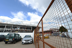 A General view of the Ashton Gate Redevelopment - Photo mandatory by-line: Dougie Allward/JMP - Mobile: 07966 386802 - 21/03/2015 - SPORT - Football - Bristol - Ashton Gate Stadium - Bristol Academy v FFC Frankfurt - UEFA Women's Champions League - Quarter Final - First Leg