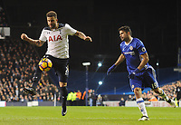 Football - 2016 / 2017 Premier League - Tottenham Hotspur vs. Chelsea<br /> <br /> Diego Costa of Chelsea and Kyle Walker of Tottenham at White Hart Lane.<br /> <br /> COLORSPORT/ANDREW COWIE