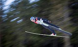 13.12.2013, Nordische Arena, Ramsau, AUT, FIS Nordische Kombination Weltcup, Skisprung, provisorischer Wettkampfdurchgang, im Bild Bernhard Gruber (AUT) // Bernhard Gruber (AUT) during Ski Jumping PCR Round of <br /> FIS Nordic Combined World Cup, at the Nordic Arena in Ramsau, Austria on 2013/12/13. EXPA Pictures © 2013, EXPA/ JFK