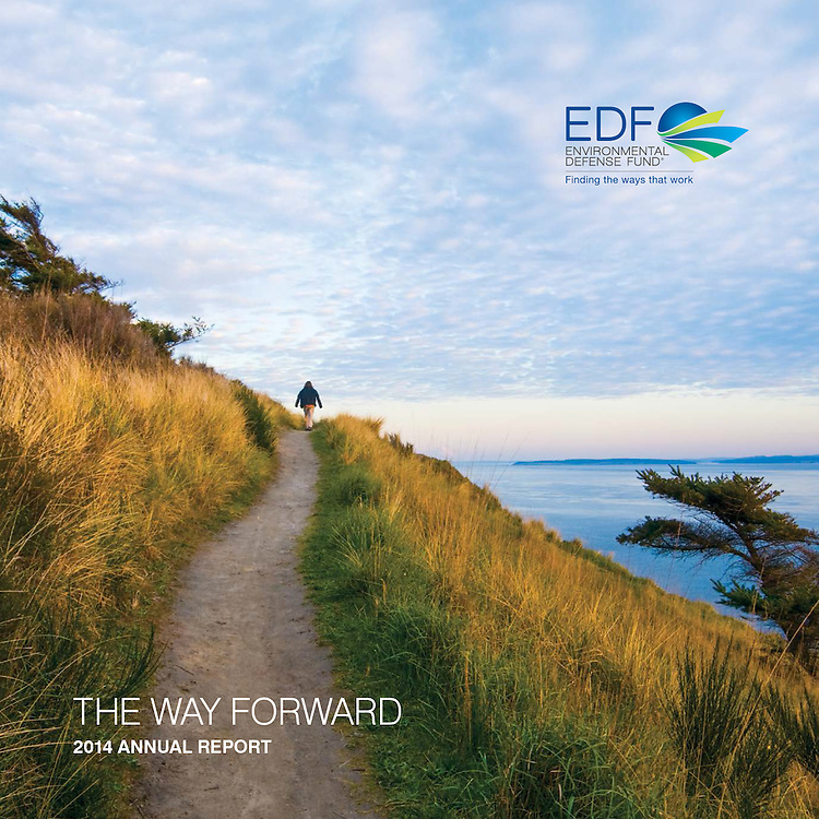 Environmental Defense Fund: Cover (2014 Annual Report)