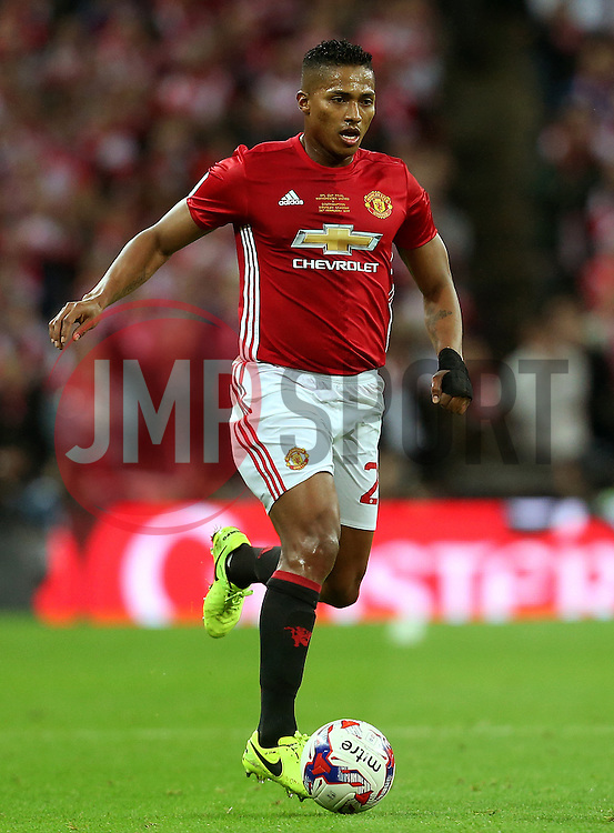 Antonio Valencia of Manchester United  - Mandatory by-line: Matt McNulty/JMP - 26/02/2017 - FOOTBALL - Wembley Stadium - London, England - Manchester United v Southampton - EFL Cup Final
