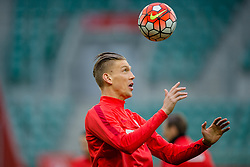 25.03.2016, Stadium Municipal, Wroclaw, POL, Training Fußballnationalmannschaft Polen, im Bild Bartosz Salamon // during a practice session of Polish national football team before tomorrow friendly match between Poland and Finland at the Stadium Municipal in Wroclaw, Poland on 2016/03/25. EXPA Pictures © 2016, PhotoCredit: EXPA/ Newspix/ Sebastian Borowski<br /> <br /> *****ATTENTION - for AUT, SLO, CRO, SRB, BIH, MAZ, TUR, SUI, SWE only*****