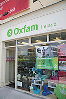 Oxfam shop in Dundrum in Dublin Ireland