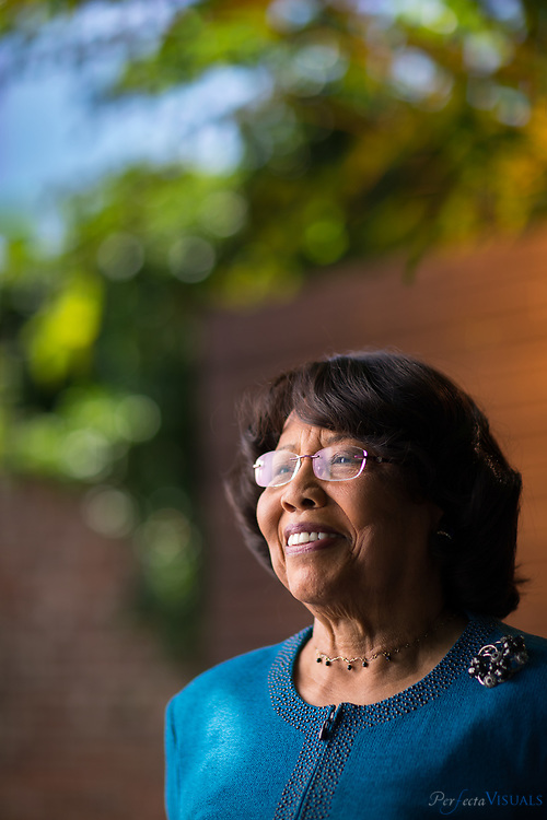 Mrs. Shirley Taylor Frye has been named as the News &amp; Record Woman of the Year for 2017. She was born and raised in Fremont, NC, and graduated valedictorian of Friendship High School. She received her Bachelor of Science degree from North Carolina A&amp;T State University with high honors in education and English. She later received a Master of Science degree with honors in psychology and special education, from Syracuse University.<br /> Mrs. Frye is the recipient of over 25 honors and awards, including the 1985 Governor&rsquo;s Order of the Long Leaf Pine Award, 2003 WFMY-TV Community Champion Award, 2005 Honorary Doctor of Humane Letters from Bennett College, 2006 American Judicature Society (AJS) National Justice Award, 2006 Honorary Doctor of Humane Letters from UNC-Greensboro, and the 2008 Greensboro Partnership Distinguished Citizen Award.<br /> In 2016, YWCA Greensboro honored Frye with the permanent naming of their newly renovated 19,300 square foot building.&nbsp;<br /> <br /> Mrs. Frye started her professional career in Greensboro, NC, as a public school teacher. She taught second grade and exceptional children. She taught briefly at Bennett College and later returned to Bennett as a special assistant to the president and director of planned giving.<br /> She has worked at NCA&amp;T in three different capacities including assistant vice chancellor for development and university relations and most recently, a special assignment as executive assistant to the chancellor. One of the most exciting and rewarding jobs to Mrs. Frye was vice president of community relations for the Greensboro CBS affiliate, WFMY-TV.<br /> Shirley T. Frye is married to the former North Carolina Supreme Court Chief Justice Henry E. Frye. They have two sons, Judge Henry E. Frye Jr. (daughter-in-law Angela) and Harlan Frye; and three granddaughters, Whitney, Jordan and Endya Frye.<br /> <br /> <br /> Photographed, Thursday, September 7, 2017, in Greensboro, N.C. JERRY WOLFORD and SCOTT MUTHERSBAUGH / Perfecta Visuals