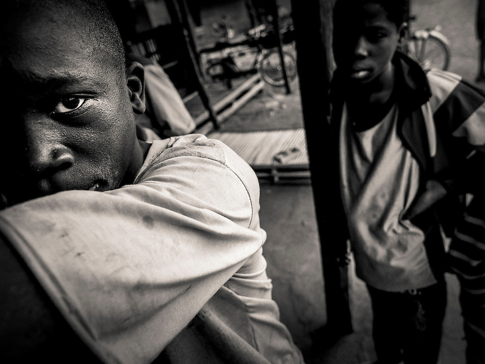 Africa, Mali, Siby, Travel, West Africa a boy waiting to play