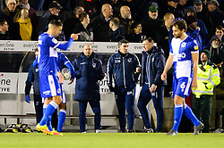 Bristol Rovers coaches  - Mandatory by-line: Dougie Allward/JMP - 07/12/2019 - FOOTBALL - Memorial Stadium - Bristol, England - Bristol Rovers v Southend United - Sky Bet League One