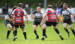 Pontypridd's Ian George<br /> Cross Keys v Pontypridd RFC<br /> <br /> Photographer Mike Jones / Replay Images<br /> Pandy Park, Cross Keys.<br /> Wales - 12th May 2018.<br /> <br /> Cross Keys v Pontypridd RFC<br /> Principality Premiership<br /> <br /> World Copyright © Replay Images . All rights reserved. info@replayimages.co.uk - http://replayimages.co.uk
