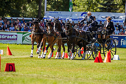 DodderBrauchle Michael, GER, Carola 83, Concetta, Djamilo 6, Don 591<br /> Prizegiving FEI rider of the year<br /> Driving European Championship <br /> Donaueschingen 2019<br /> © Hippo Foto - Dirk Caremans<br /> Brauchle Michael, GER, Carola 83, Concetta, Djamilo 6, Don 591