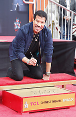 Lionel Richie Hand And Footprint Ceremony 03-07-2018