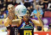 BOP Magic's Julianna Naoupu.<br /> ANZ Netball Championship, Queensland Firebirds v BOP Magic, Semi Final. Gold Coast Convention Centre, Gold Coast, Australia, Monday 9 May 2011. Photo: Andrew Cornaga/photosport.co.nz