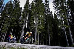 Primoz Roglic competes at Sloveian Road Cycling Championship Time Trial 2020 Gorje - Pokljuka, on June 28, 2020 in Pokljuka, Slovenia. Photo by Matic Klansek Velej / Sportida