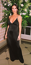 Model KATHY LLOYD at a ball in London on<br />  18th June 1998.MIO 39