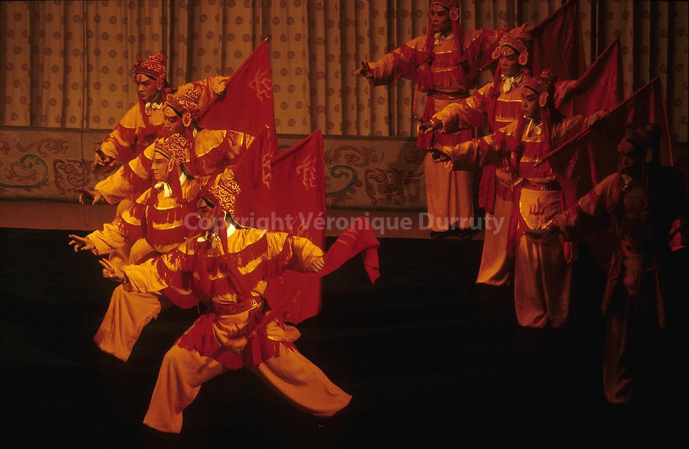 Spectacle de l'Opera de Pekin, Beijing, Chine