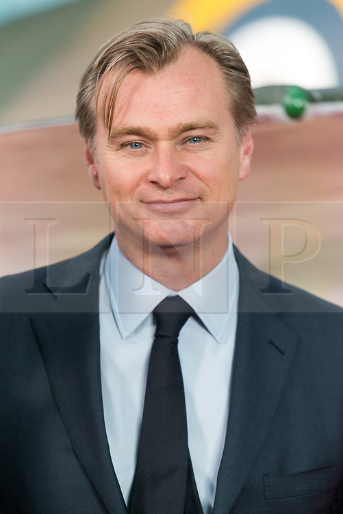 © Licensed to London News Pictures. 13/07/2017. London, UK. Film director CHRISTOPHER NOLAN attends the Dunkirk World Film Premiere. Photo credit: Ray Tang/LNP