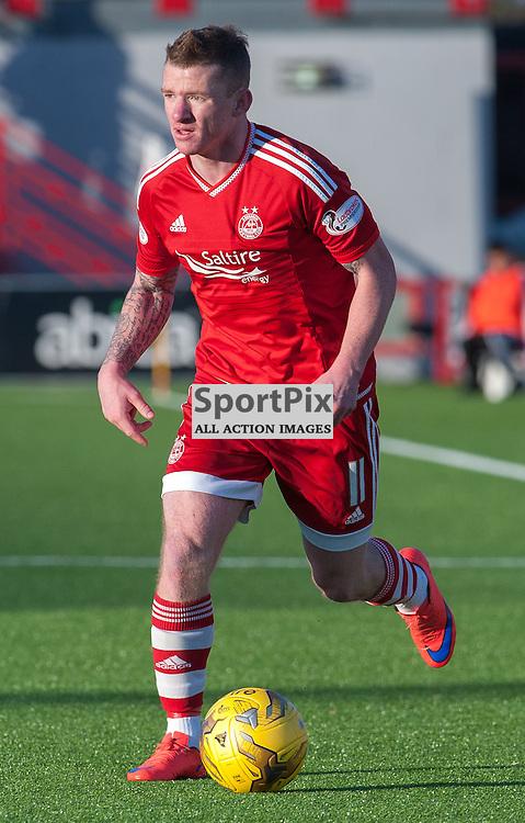 #11 Jonny Hayes (Aberdeen)<br /> <br /> SPFL Premiership<br /> Hamilton Academical v Aberdeen<br /> New Douglas Park, Hamilton<br /> Sunday 22 November 2015<br /> <br /> &copy; Russel Hutcheson | SportPix 2015