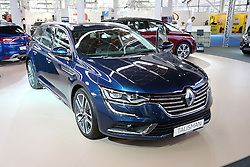 05.04.2016, Zagreb, CRO, Zagreb Auto Show, im Bild Renault Talisman // Press day at Zagreb fair before official opening of Zagreb Auto Show at Zagreb, Croatia on 2016/04/05. EXPA Pictures &copy; 2016, PhotoCredit: EXPA/ Pixsell/ Dalibor Urukalovic<br /> <br /> *****ATTENTION - for AUT, SLO, SUI, SWE, ITA, FRA only*****