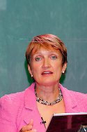 Tessa Jowell MP, Secretary of State for Culture, Media and Sport, speaking at the TUC 2005.