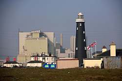 UK ENGLAND DUNGENESS 24MAR12 - General view of Dungeness nuclear power station on the Kent coast.....jre/Photo by Jiri Rezac....© Jiri Rezac 2012