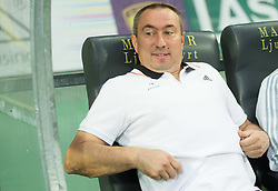 Stanimir Stoilov, head coach of Astana during First Leg football match between NK Maribor and FC Astana in Second qualifying round of UEFA Champions League, on July 14, 2015 in Stadium Ljudski vrt, Maribor, Slovenia. Photo by Vid Ponikvar / Sportida