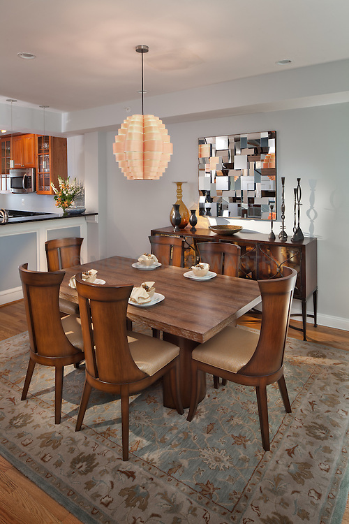 1126 25th St Nw Washington, DC designer Cynthia Prizant Dining Room