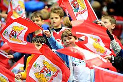 Bristol City flagbearers - Mandatory by-line: Dougie Allward/JMP - 05/11/2016 - FOOTBALL - Ashton Gate - Bristol, England - Bristol City v Brighton and Hove Albion - Sky Bet Championship