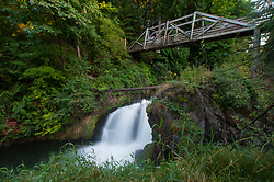 Tumwater Falls, Tumwater, Washington, US