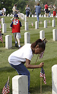 2007 - Memorial Ceremony at VA Cemetery in Dayton