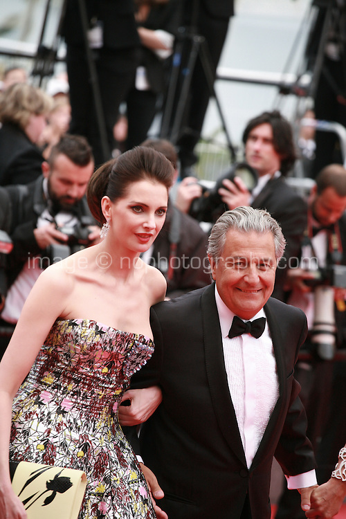 Frederique Bel at Jimmy's Hall gala screening red carpet at the 67th Cannes Film Festival France. Thursday 22nd May 2014 in Cannes Film Festival, France.