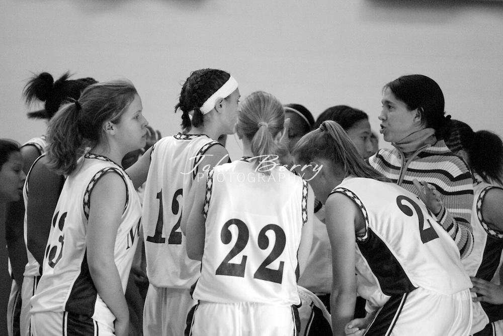 MCHS JV Girls Basketball..vs Orange..Second Period..December 18, 2004