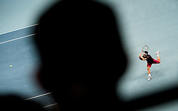 27.10.2018, Wiener Stadthalle, Wien, AUT, ATP Tour, Erste Bank Open, Halbfinale, im Bild Kei Nishikori (JPN) // Kei Nishikori of Japan during the semi finals of Erste Bank Open of ATP Tour at the Wiener Stadthalle in Wien, Austria on 2018/10/27. EXPA Pictures © 2018, PhotoCredit: EXPA/ Michael Gruber