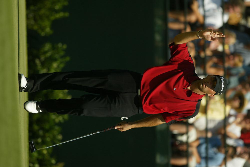 2003 Shell Houston Open..Final Round..April 27, 2003..Redstone Golf Club, Houston TX..Photograph by Darren Carroll