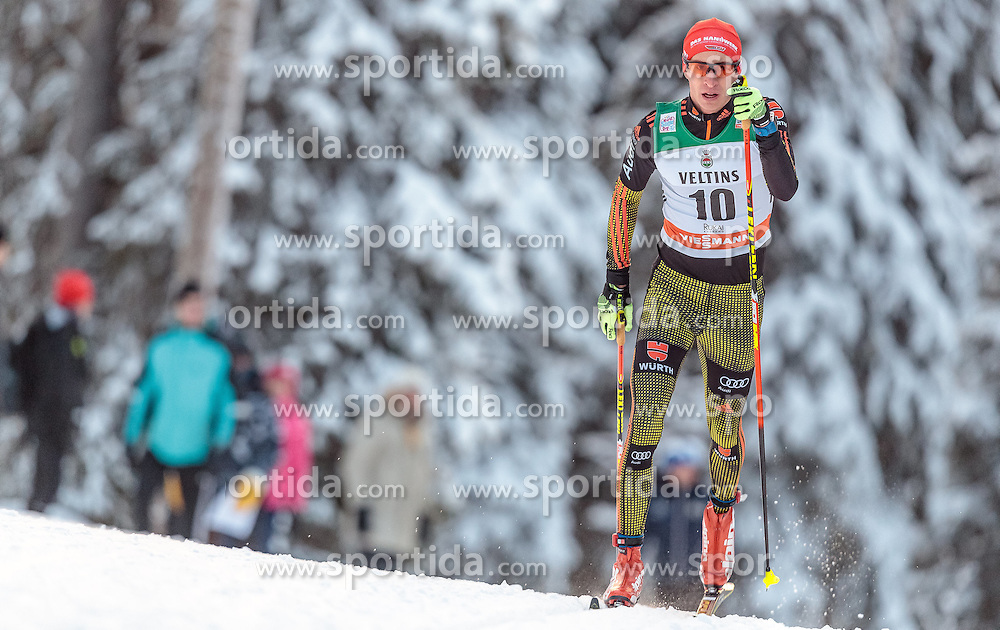 27.11.2016, Nordic Arena, Ruka, FIN, FIS Weltcup Langlauf, Nordic Opening, Kuusamo, Herren, im Bild Florian Notz (GER) // Florian Notz of Germany during the Mens FIS Cross Country World Cup of the Nordic Opening at the Nordic Arena in Ruka, Finland on 2016/11/27. EXPA Pictures © 2016, PhotoCredit: EXPA/ JFK