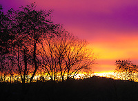 Ohio Sunset, Ohio Sunset Purple Orange image for sale