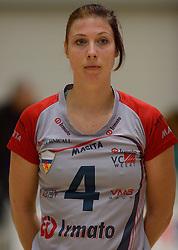 10-11-2013 VOLLEYBAL: VV ALTERNO - VC WEERT: APELDOORN<br /> Alterno wint met 3-0 van Weert / Judith Vromen<br /> ©2013-FotoHoogendoorn.nl