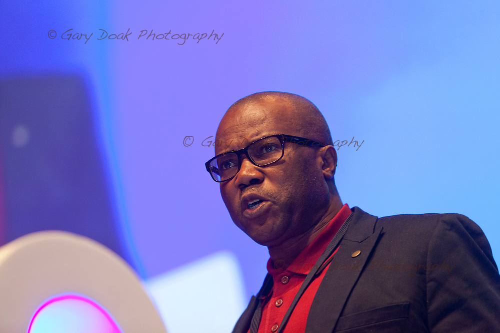 Henry Akpabio<br /> BMA LMC's Conference<br /> EICC, Edinburgh<br /> <br /> 18th May 2017<br /> <br /> Picture by Gary Doak