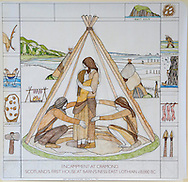 Great Tapestry of Scotland.  Panel Copy<br /> picture by Alex Hewitt<br /> alex.hewitt@gmail.com<br /> 07789 871 540