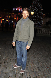TOM AIKENS at the opening of the 2012 Somerset House Ice Rink on 15th November 2012.