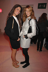 Left to right ELIZABETH SALTZMAN and ELLE MACPHERSON at the Art Plus Drama party Held at the Whitechapel Art Gallery, London E1 on 8th March 2007. <br /><br />NON EXCLUSIVE - WORLD RIGHTS