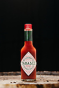 The Tabasco factory on Avery Island, LA where Tabasco sauce has been made by the McIlhenny Company since 1868.<br />