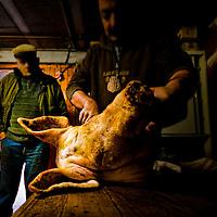 """Kill the pig"", a regional tradition"