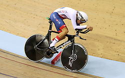 Great Britain's Charlie Tanfield in the men's 4000m individual pursuit qualifying during day four of the 2018 European Championships at the Sir Chris Hoy Velodrome, Glasgow. PRESS ASSOCIATION Photo. Picture date: Sunday August 5, 2018. See PA story CYCLING European. Photo credit should read: John Walton/PA Wire. RESTRICTIONS: Editorial use only, no commercial use without prior permission