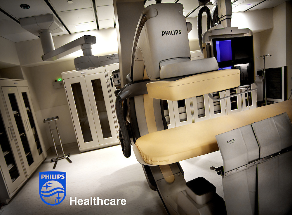 Philips MultiDiagnost Eleva X-ray system at University Medical Center Princeton-Plainsboro.