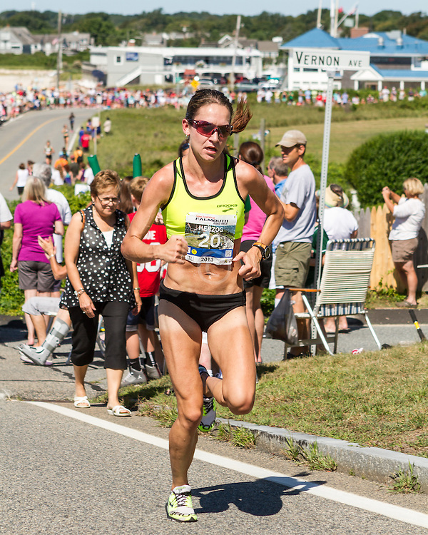 41st Falmouth Road Race: Adrienne Herzog