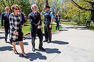 Aankomst in Hamilton, bezoek aan de McMaster University (1280 Main Street West)