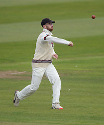 Somerset's Jack Leach - Mandatory byline: Alex James/JMP - 07966386802 - 09/09/2015 - FOOTBALL -  - The County Ground - Taunton  - Somerset v Hampshire - LV CC -