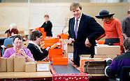 Streekbezoek Koning Willem Alexander en Koningin Maxima brengen dinsdag 17 februari een streekbezoek