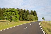 Landstraße zum Hoherodskopf, Vogelsberg, Hessen, Deutschland | Hoherodskopf, Vogelsberg, Hesse, Germany