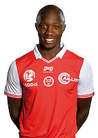 Antoine Conte of Reims during the photocall of Reims for new season of Ligue 2 on September 29th 2016 in Reims<br /> Photo : Stade de Reims / Icon Sport