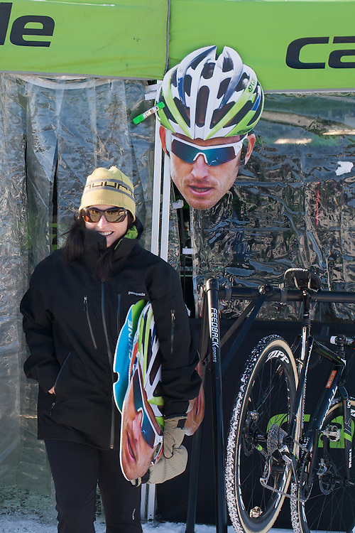 The Cannondale Crew kept fans happy all weekend.  ©Brian Nelson